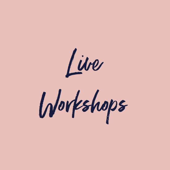 Live Workshops with Chenae Carey